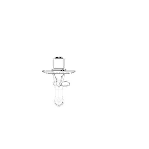 Tub Faucet Trim, Victorian® Collection, Tub Only, Brass Body, Aged Pewter Finish, Single Handle