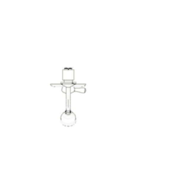 Shower Faucet Trim, Orleans™ Bath Series, Shower Only, Brass Body, Stainless Steel Finish