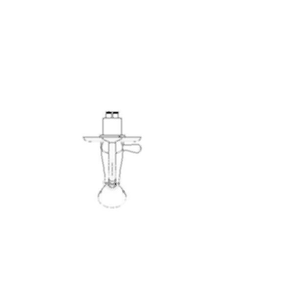Tub and Shower Faucet Trim, Leland™ Bath Series, Brass Body, Chrome Finish, Single Handle