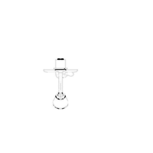 Tub Faucet Trim, Innovations® Tub, Brass Body, Brilliance® Pearl Nickel Finish, Single Handle