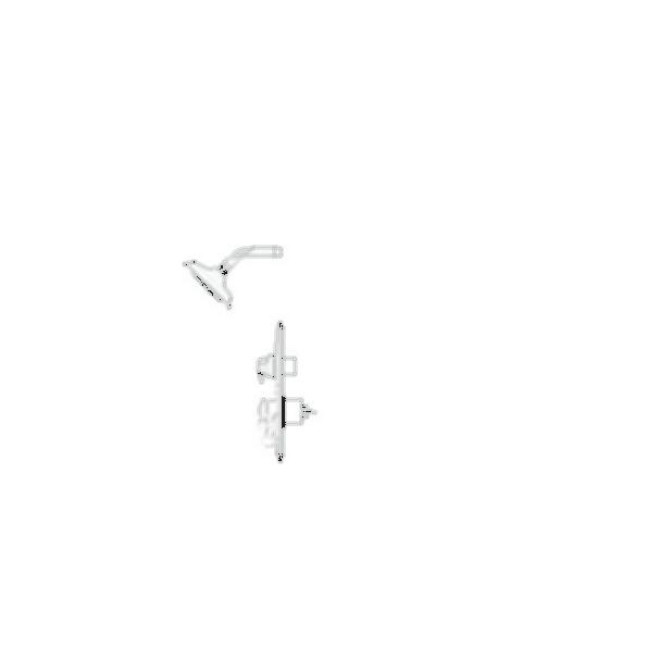 Shower Faucet Trim, LockwoodTM , Shower Only, Chrome Finish, Single Handle