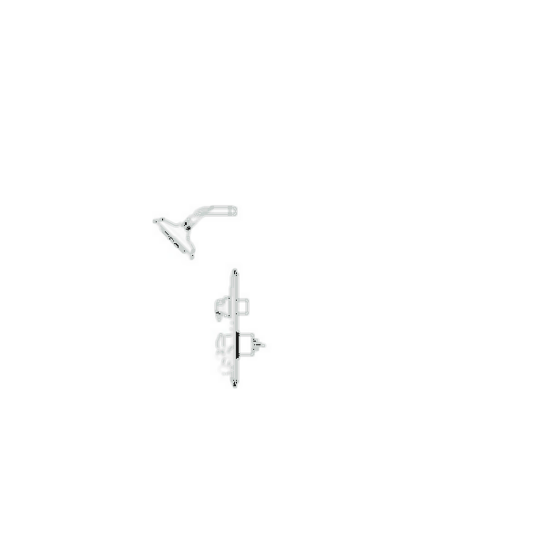 Shower Faucet Trim, LockwoodTM Collection, Shower Only, Stainless Steel Finish, Single Handle