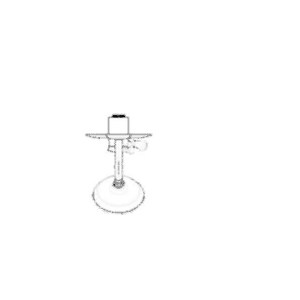 Shower Faucet Trim, Lockwood™, Shower Only, Brass Body, Chrome Finish, Single Handle