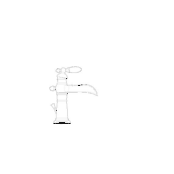 Lavatory Faucet, Victorian® BathCollection,Brass Body, Chrome Finish