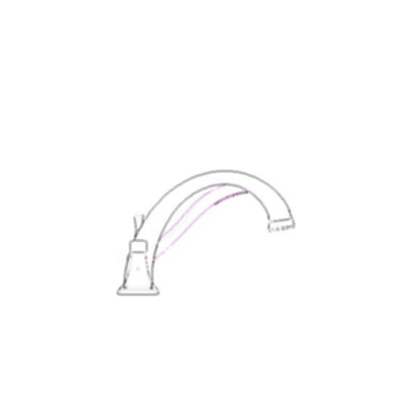 Roman Tub/Whirlpool Faucet Trim,Dryden™ Bath Collection, Aged Pewter Finish