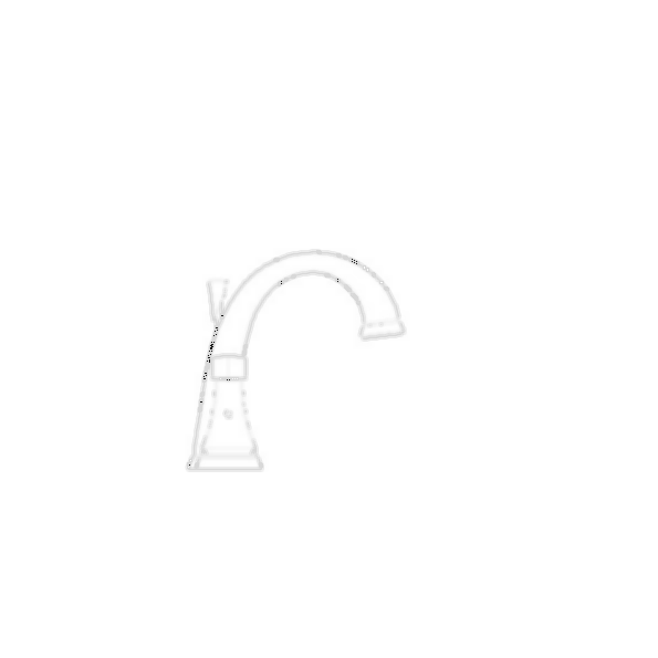 Lavatory Faucet, Dryden™ Bath Collection, Mini Widespread, Brass Body, Aged Pewter Finish