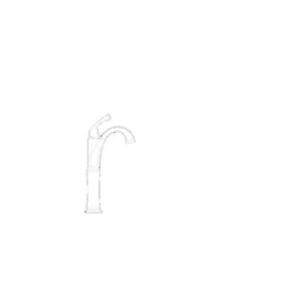 Lavatory Faucet, Dryden™ Collection, Brass Body, Brilliance® Stainless Finish