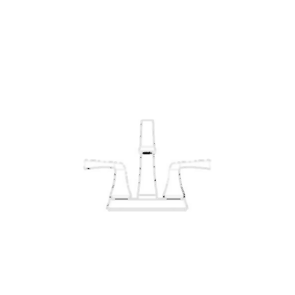 Lavatory Faucet, Dryden™ Bath Collection, Centerset, Brass Body, Chrome Finish