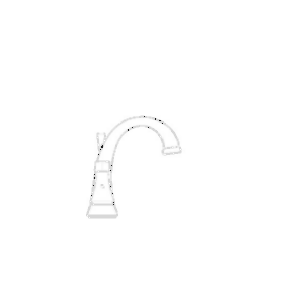 Lavatory Faucet, Dryden™ Bath Collection, Centerset, Brass Body, Aged Pewter Finish