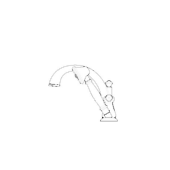 J-Spout Roman Faucet Trim w/Hand Shower, Venetian Bronze Finish