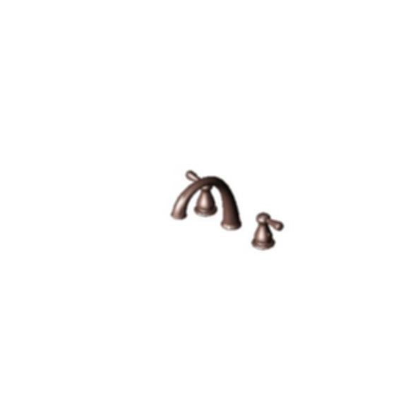 J-Spout Roman Tub Faucet Trim, Venetian Bronze Finish