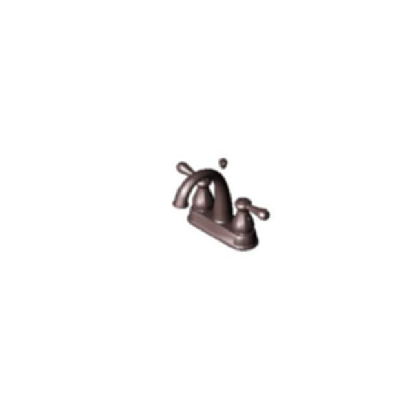 J-Spout Centerset Bath Faucet - Venetian Bronze