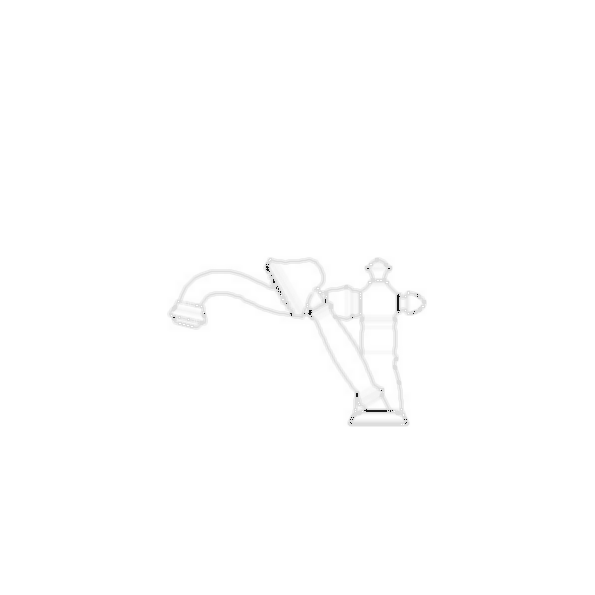 RT Faucet with Handshower Trim, Aged Pewter Finish