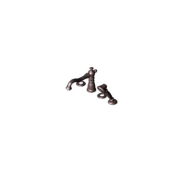 RT Faucet with Handshower Trim, Venetian Bronze Finish