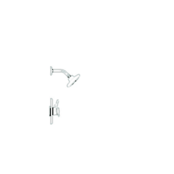Scald-Guard Shower Trim, Chrome Finish