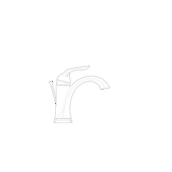 Single Handle Centerset Bath Faucet, Chrome Finish