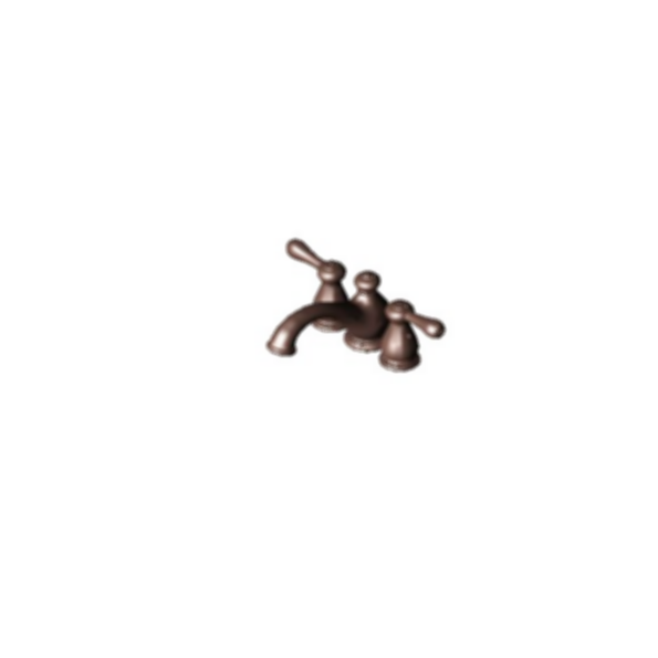 Mini-Widespread Bath Faucet, Venetian Bronze Finish