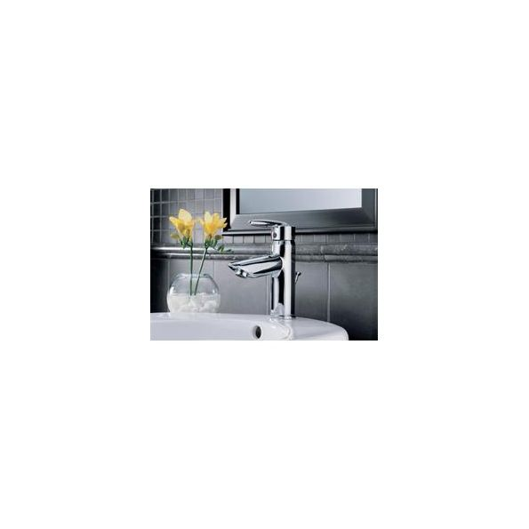 Lavatory Faucet Grail Series Stainless Steel Finish Single Handle One