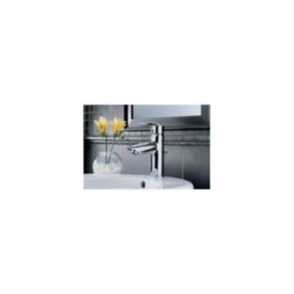 Lavatory Faucet, Grail™ Series, Centerset, Chrome Finish, Single Handle,One-Hole or Three-Hole,