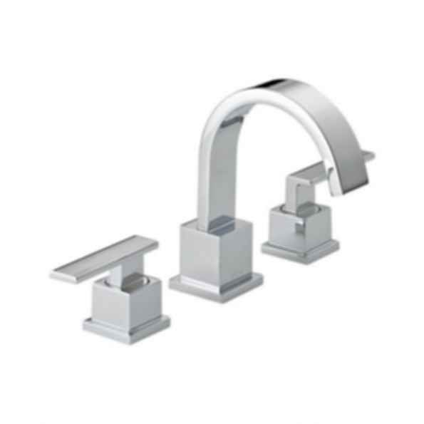 Vero™Collection Two-Handle Widespread Lavatory Faucet, Three-Hole Installation, Polished Chrome