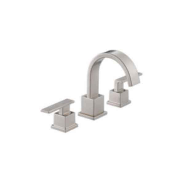 Vero Two Handle Widespread Lavatory Faucet Three Hole