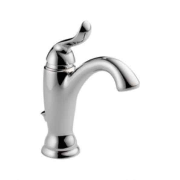 Linden™ Single Handle Lavatory Deck Faucet 1or 3 Hole Installation Polished Chrome