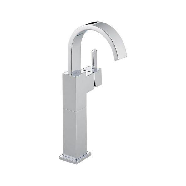Vero™ Single Handle Lavatory Faucet With Riser, Single Hole Installation,  Polished
