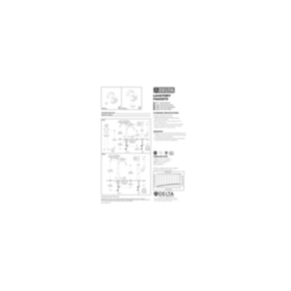 Vero™ Single-Handle Lavatory Faucet with Riser, Single-Hole Installation, Polished Chrome