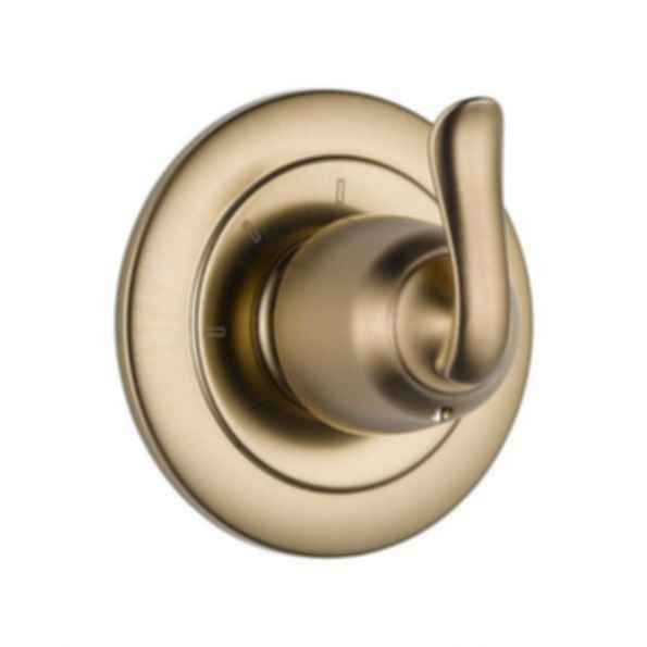 Linden™ Collection Three Function Diverter Trim Two Individual Positions Champagne Bronze