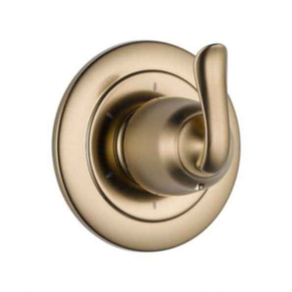 Linden™ Collection Six Function Diverter Trim Three Individual Positions Champagne Bronze