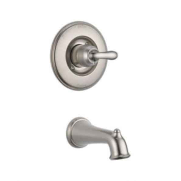 Linden™ Collection Tub Trim Monitor 14 Mixing Valve Single Handle Brilliance Stainless
