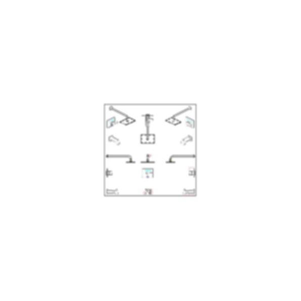 Vero™ Collection Tub/Shower Trim, Single Handle, Polished Chrome