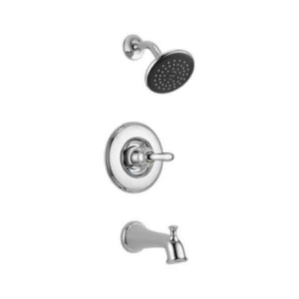 Linden™ Collection Tub/Shower Trim Monitor 14 Valve Raincan Showerhead Polished Chrome