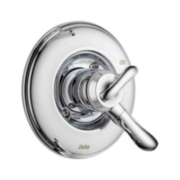Linden™ Collection Valve Trim Monitor 17 Mixing Valve Two Handles Polished Chrome