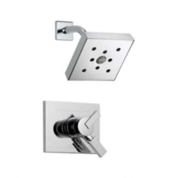 Vero™ CollectionShower Trim with H2O Showerhead,Polished Chrome