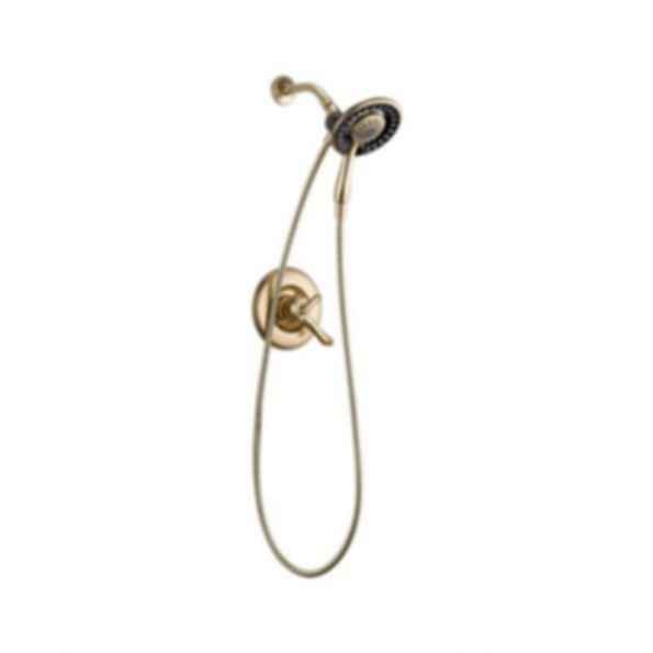 Linden™ Collection Shower Trim Raincan Hand Shower Champagne Bronze