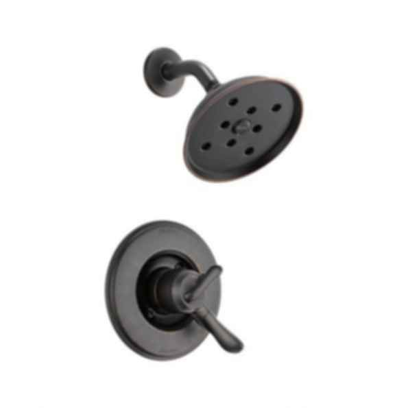 Linden™ Collection Shower Trim Monitor 17 Mixing Valve H2O Showerhead Venetian Bronze