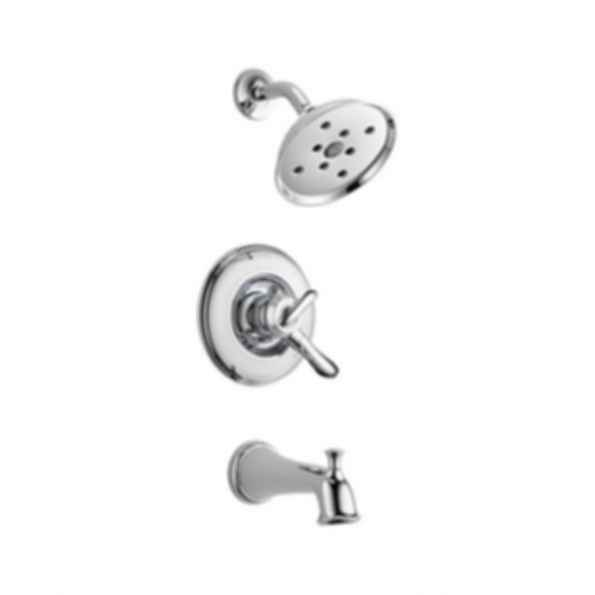 Linden™ Collection Tub/Shower Trim Monitor 17 Valve H2O Showerhead Polished Chrome