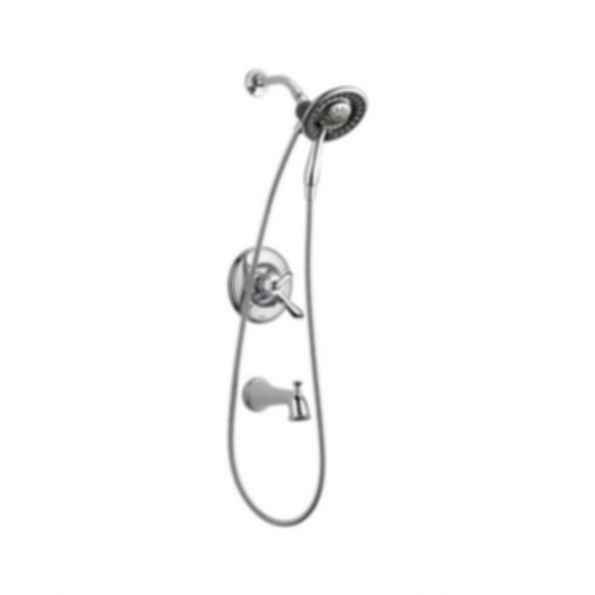Linden™ Collection Tub/Shower Trim Monitor 17 Valve Raincan Hand Shower Polished Chrome
