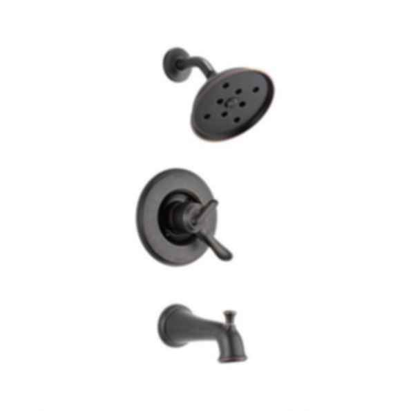 Linden™ Collection Tub/Shower Trim Monitor 17 Valve H2O Showerhead Venetian Bronze