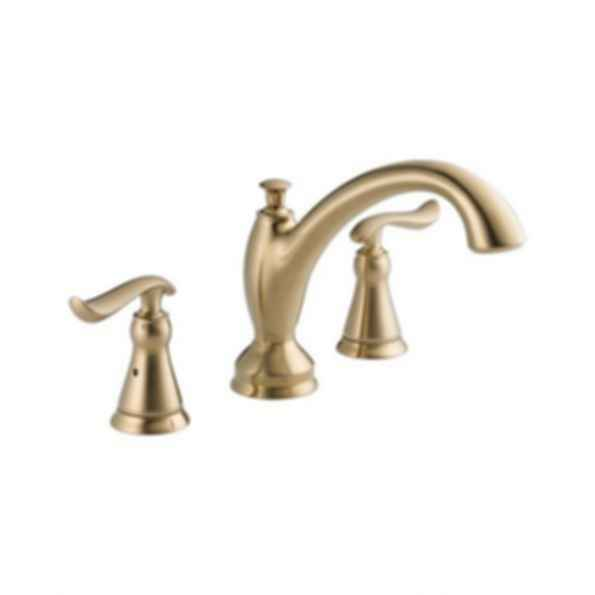 Linden™ Collection Roman Tub/Whirlpool Faucet Trim 3Hole Installation Champagne Bronze
