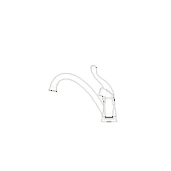 Talbott Single Handle Kitchen Faucet with Side Sprayer, 3-Hole 8