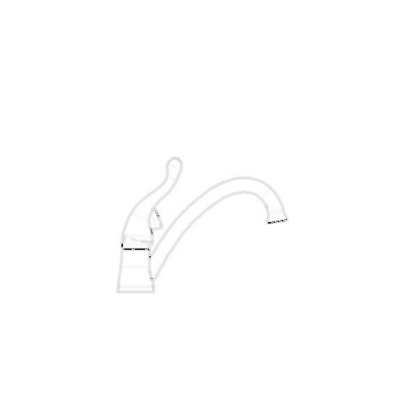 Talbott Single Handle Kitchen Faucet with Side Sprayer, 2-Hole 4? Installation, Chrome Finis