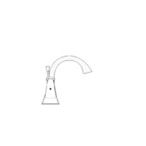 Lahara Two Handle Centerset Lavatory Faucet, 3-Hole 4? Installation, Chrome Finish