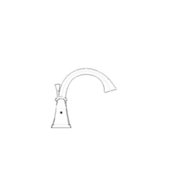 Lahara Two Handle Widespread Bath Faucet, 3-Hole 6-16