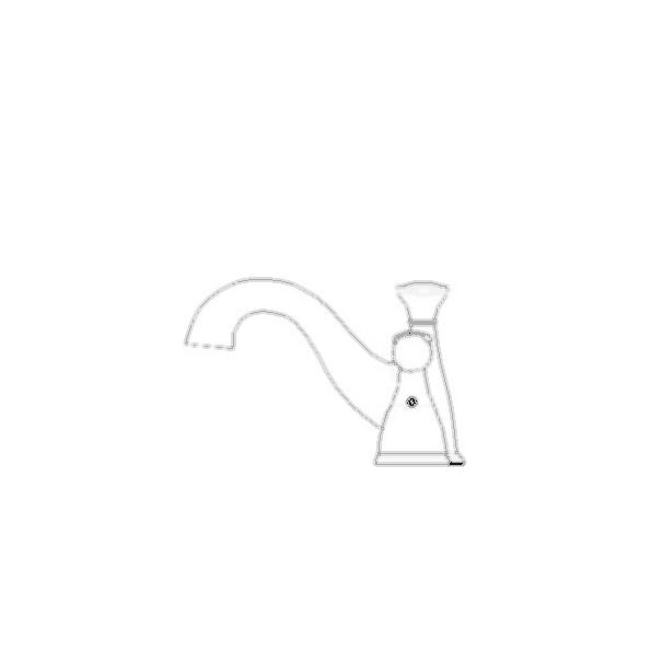 Lockwood Mini-Widespread Bath Faucet, 3-Hole 4? Installation, Chrome Finish