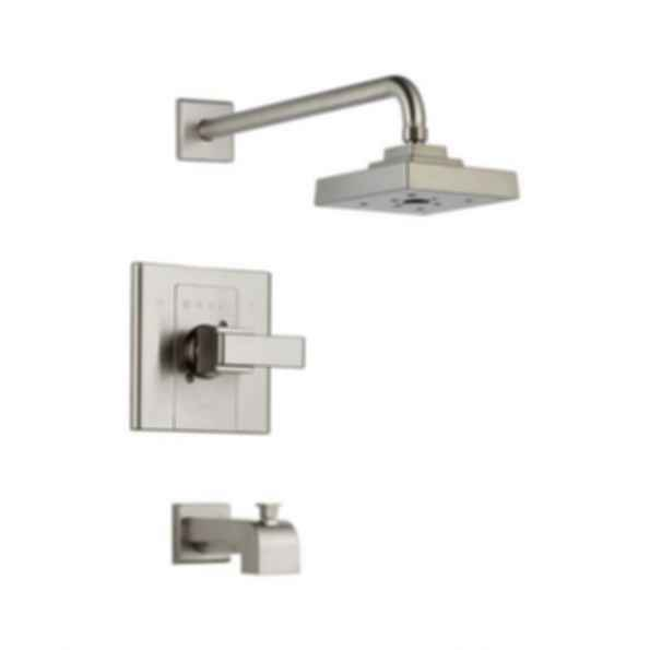 Arzo Monitor® Scald-Guard® Tub & Shower Trim, Brilliance® Stainless Steel Finish