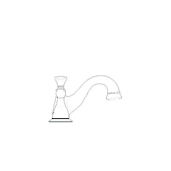 Lockwood Widespread Bath Faucet, 3-Hole 6-16a