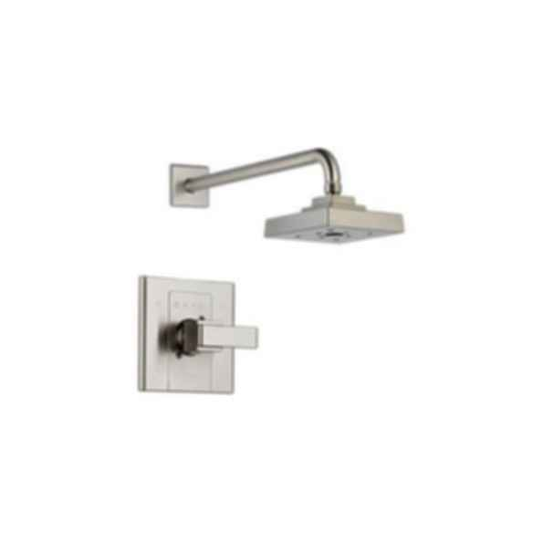 Arzo Monitor® Scald-Guard® Shower Trim, Stainless Steel Finish