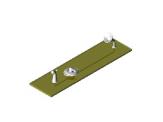 Monitor® Scald-Guard® Tub Trim w/ Volume Control